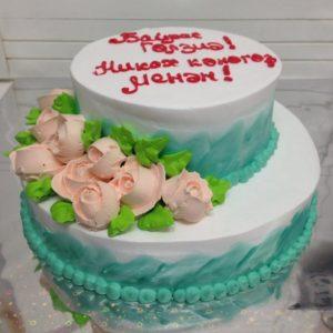 торт заказной Свадебный