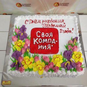 Корпоративный торт 307